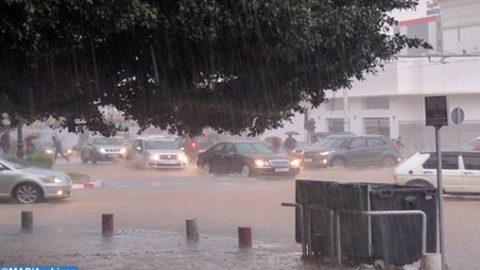 Averses orageuses localement fortes vendredi dans plusieurs provinces du Royaume (bulletin spécial)