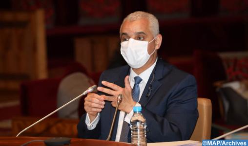 Covid-19: le système de santé se place aujourd'hui au premier rang des priorités (M. Ait Taleb)