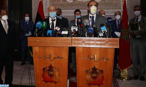M. El Malki affirme le soutien du Maroc à toutes les initiatives visant à rétablir la sécurité et la stabilité en Libye