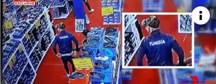 لاعبون تونسيون يسرقون أحذية في أستراليا