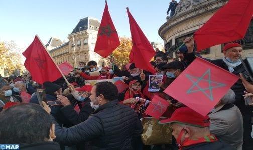 متظاهرون مغاربة سلميون